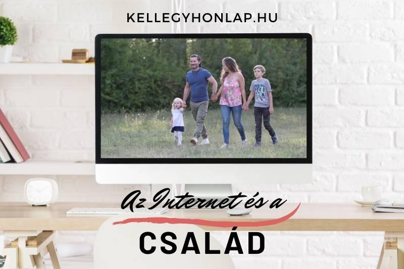 Az Internet és a család