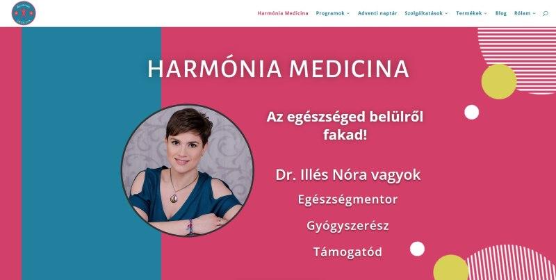 Harmónia Medicina - referencia