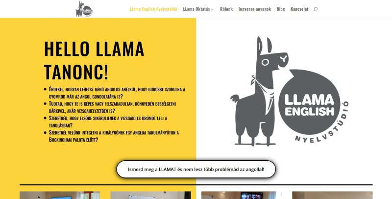Llama English - referencia